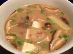 homemade hot and sour soup