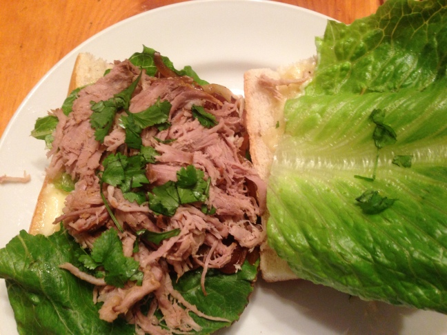 Caribbean Roast Sandwich