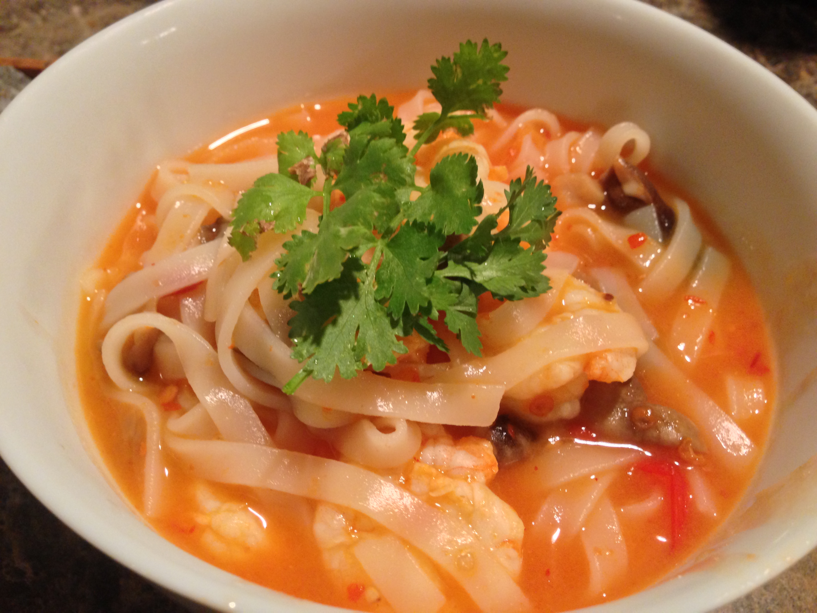 Tom Yum Noodle Soup | Dispatches from the Castle