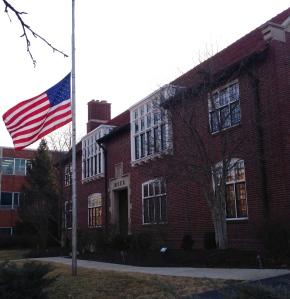 Flags at half-staff
