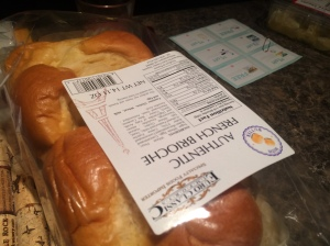 Stale Brioche Bread