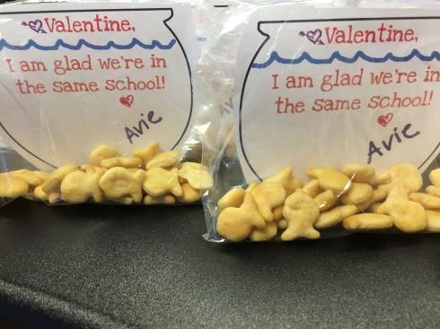 Toddler Fish Bowl Valentines