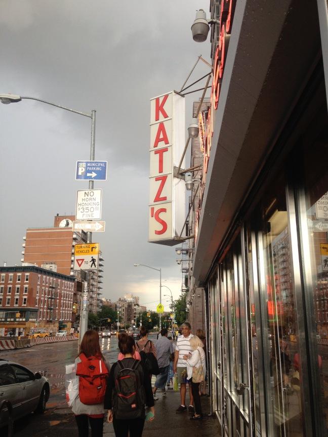 NYC Katz's Delicatessen